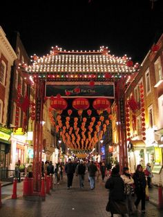 Chinatown is one of London's most famous tourist attractions. Located in Soho, the area is a short walk from Leicester Square and Piccadilly Circus. London's original Chinatown was located in the East End, but the bombing incurred during The Blitz led to the original Chinatown's decline and London's Chinese population, boosted by newly arrived immigrants from Hong Kong, soon began to relocate to Soho. By the 1960s the 'new' Chinatown was truly established.