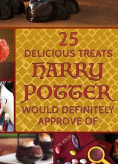 25 Harry Potter Treats To Rival Honeydukes - I want to throw a Harry Potter party