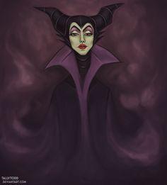 Maleficent by ~TallyTodd on deviantART