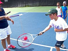 You can find a wide variety of tennis training equipments at goodbyeball: Tennis Clubs, Sport Tennis, Simply Learning, Kids Learning, Teamwork Skills, Learn Faster, Tennis Fashion, Training Equipment, Good Sleep