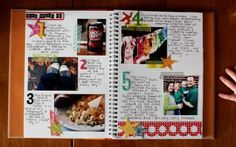 Smash Journal Page Ideas   great idea for a journal page