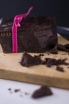 Unsweetened Callebaut to make a sinful chocolate glaze