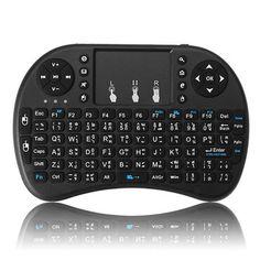 I8 Thai Language Version 2.4G Wireless Mini Keybaord Touchpad Air Mouse Mac Os, Linux, Uganda, Home Entertainment, Sierra Leone, Smart Tv, Taiwan, Montenegro, Teclado Qwerty