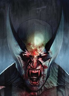 "Descripción gráfica de ""What If Wolverine became a vampire during Inferno""."