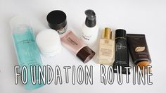 My Foundation Routine   How I Apply My Base Makeup   底妝分享