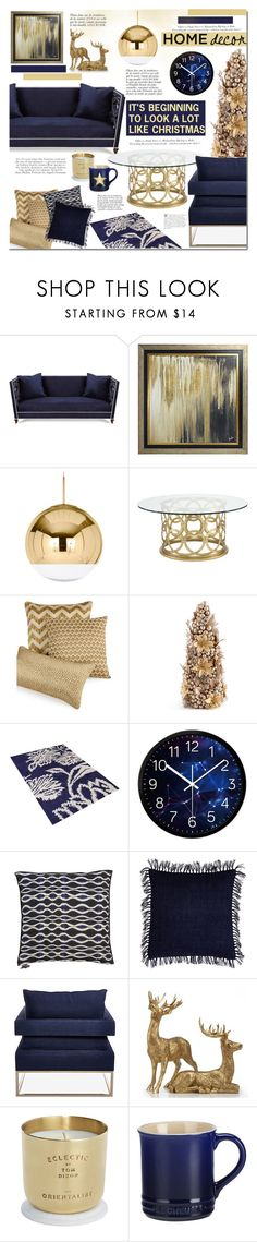 """It's beginning to look like Christmas"" by mada-malureanu ❤ liked on Polyvore featuring interior, interiors, interior design, home, home decor, interior decorating, Haute House, Universal Lighting and Decor, Tom Dixon and Hotel Collection"