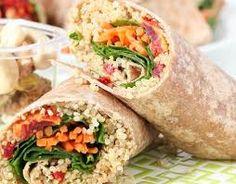 Quinoa Veggie Wraps - Powered by @ultimaterecipe