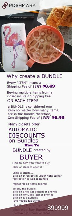 WHY CREATE A BUNDLE? Creating a bundle incurs only one shipping cos. Please submit your offer for a Discount. I'm always open for reasonable offers. :) 7 For All Mankind Jeans