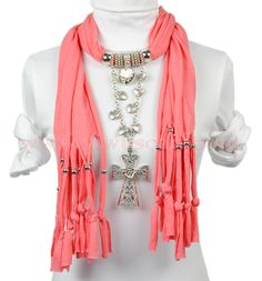 photo of scarf jewelry - Yahoo! Search Results Chal 250c2adc09f1