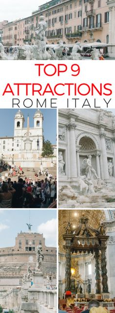 Here are the 9 Rome
