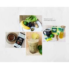 What I like to eat for #breakfast 🍴#healthy #green #smoothie #recipe ☕  check…