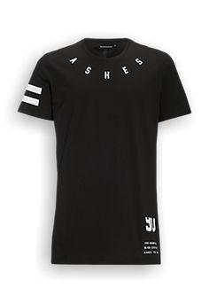 Long Fit T-shirt Zwart - The Sting