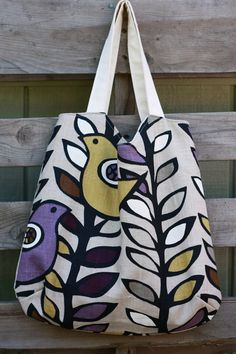 The Simple Tote by antsyantelope on etsy