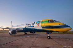Azul e Embraer assinam acordo final para encomenda de 30 jatos E195-E2