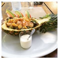 Pineapple Salad   #pineapple #costarica #fresheats #nourish #bowlfullofgoodness