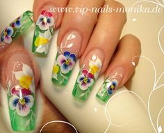 I love spring by vipnailsmonika from Nail Art Gallery