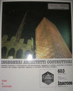 """LE NOSTRE PUBBLICAZIONI: """"La Torre Garisenda. Il processo conoscitivo e l'intervento di consolidamento"""" di Paolo Nannelli e Francisco Giordano, in: """"INARCOS"""", rivista ingegneri architetti e costruttori, Bologna, LIV, 603, ott. 1999. Citato anche in:   http://www.treccani.it/enciclopedia/breve-storia-del-restauro-statico_(Il_Contributo_italiano_alla_storia_del_Pensiero:_Tecnica)/"""