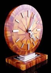Art deco clock.
