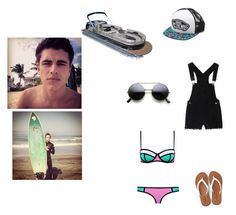 """Boat day with Jack Gilinsky and Jack Johnson"" by grahambrenna ❤ liked on Polyvore featuring American Eagle Outfitters and Vans"