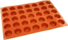 World Cuisine Non-Stick Silicone Mold, Tartlet, Fluted * Awesome product. Click the image at  : baking essentials