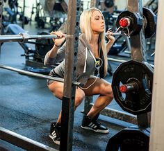 Bodybuilding.com - Women's Workout Plan: How Ashley Hoffmann Trains For Strength (1 Upper day; 1 lower day ) 2 day split