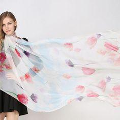 Elegantná hodvábna dámska šatka - 180 x 110 cm - vzor 3 Ballet Skirt, Outfit, Skirts, Fashion, Outfits, Moda, Tutu, Fashion Styles, Skirt