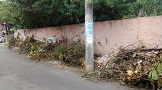 Blog do Rio Vermelho, a voz do bairro: Ponto de lixo e entulho na rua Maracás, um problem...