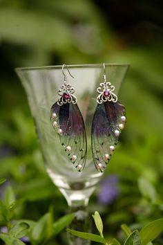 New* Sluah Fairy Wing Silver earrings