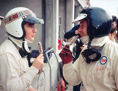 La nouvelle vague écossaise : Jackie Stewart et Jim Clark. Le Mans, Formula One Champions, Gp Moto, Aryton Senna, Jochen Rindt, Jackie Stewart, Gilles Villeneuve, Classic Motors, F1 Drivers