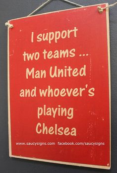 Hey, I found this really awesome Etsy listing at https://www.etsy.com/listing/179671275/manchester-united-sign-i-support-man