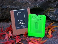 Add Simplicity & Comfort To Your Back Pocket w/The EZGO Wallet (Glow In The Dark) - This Modern, Slim & Lightweight Wallet Makes Your Life EZ