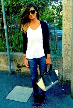 Love this outfit & Wedge sneakers