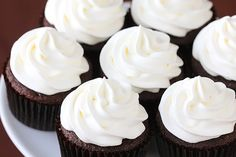 White Chocolate Mocha Cupcakes