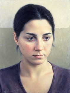 Robert Bauer - Anna (2000) oil on canvas