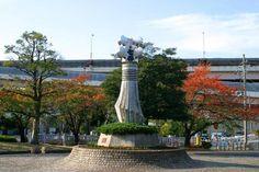 """Statue of """"Matoi""""  (Tsutsumi-dori,Sumida Ward)"""