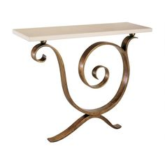 Villiers Brothers - Aegean Bronze Console Table
