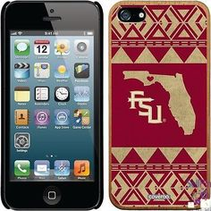 $29.00: Florida State Seminoles iPhone 5-5S Madera Thinshield Case (State Love Design)