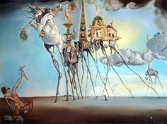 This is part 2 of post on the works of Salvador Dali. For biographical notes -in english and italian- and other works by Salvador Dali see: Salvador Dali Salvador Dali Tattoo, Salvador Dali Quotes, Salvador Dali Kunst, Salvador Dali Paintings, Temptation Of St Anthony, Inspiration Artistique, Magritte, Art Moderne, Gaudi