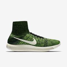 6bf656cc17b 2016-2017 Sale Men Nike Lunarepic Flyknit Black Volt Poison Green 818676  002 New Arrival