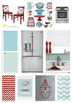 Kitchen Style Board - inspired by LG Studio Collection. This post also includes the chance to WIN a new kitchen!!
