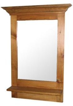 Canadian Woodcraft  - The Colonial Mirror, $134.00 (http://www.canadianwoodcraft.ca/the-colonial-mirror/)