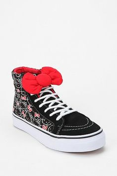 Vans Hello Kitty High-Top Sneaker...someone buy me these PLEASE