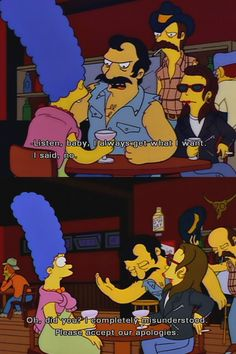 written in the mid 90s and better than any other scenario, i present the simpsons in their glory <3 TUMBLR: your-lovely-illusion