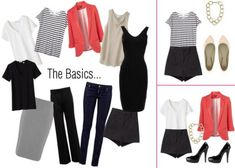 10 Different Pieces, 10 Different Outfits: Mix 'n Match Classics with New Must-Haves | www.diyfashion.com
