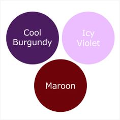 HOW TO WEAR MAROON FOR A PURE WINTER (CLEAR WINTER)