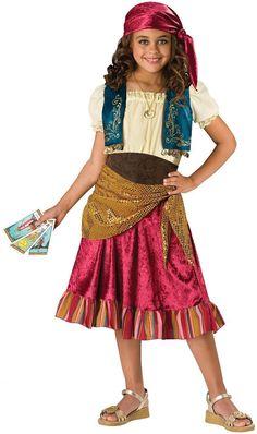 gypsy girl child costume - 12