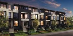 modern townhouse exterior - Google Search