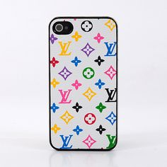 Louis Vuitton iPhone 4 Case LV iPhone 4S Case Monogram White