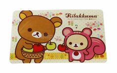 Rilakkuma card sticker (model 9)