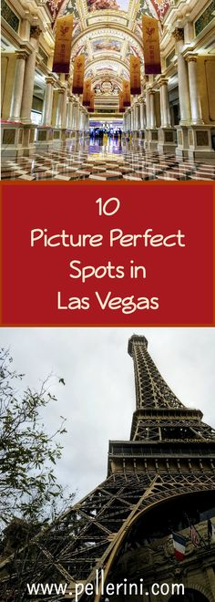 There is so much to see and do in Las Vegas, both on and off the strip.  Between the amazing hotel designs (inside and out), the flashing lights, and the people-watching, it may be hard to focus on the best spots to take memorable photos.  That's where I come in!